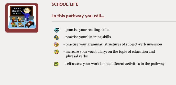 School Life - Objectives