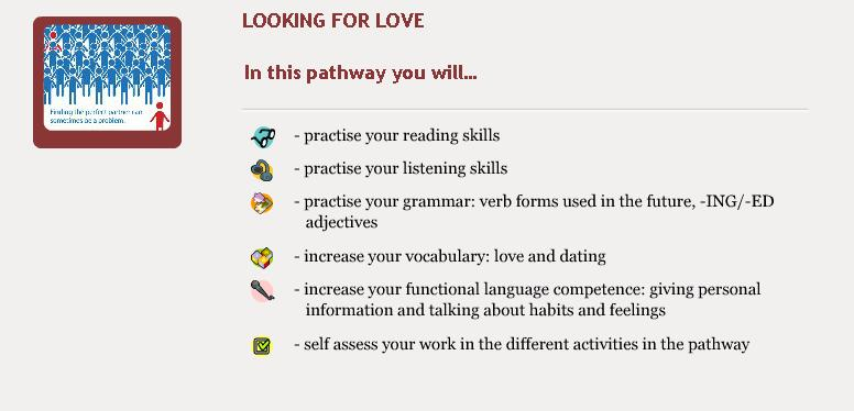 Looking for Love - Objectives
