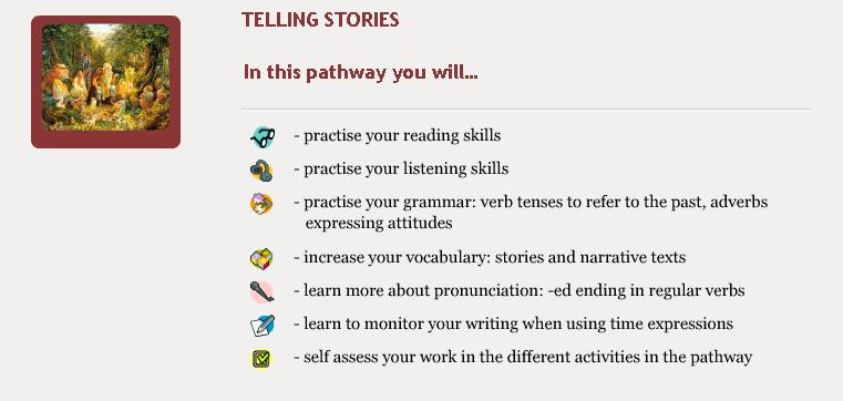 Telling Stories - Objectives