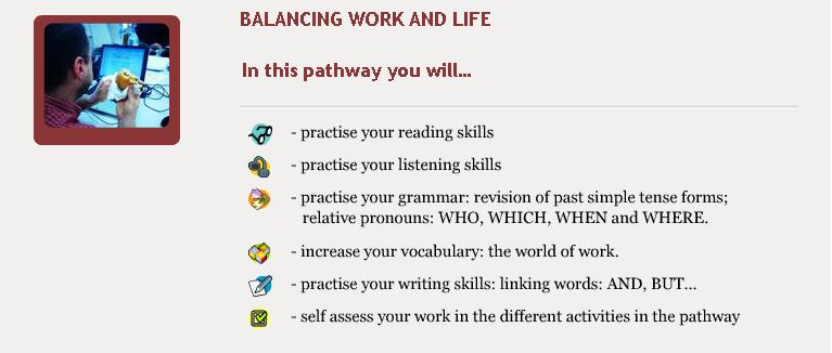 Balancing Work and Life - Objectives